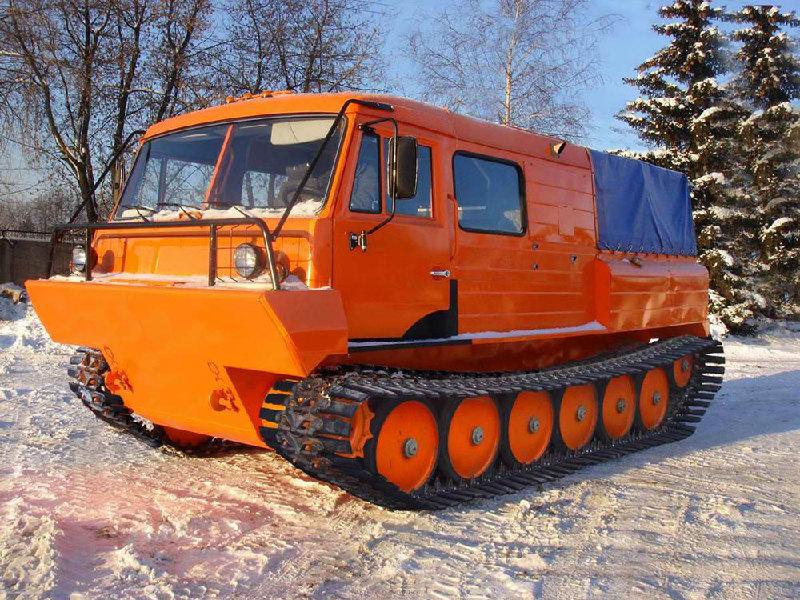 Вездеход ТТМ-3 ГР Тайга на снегу